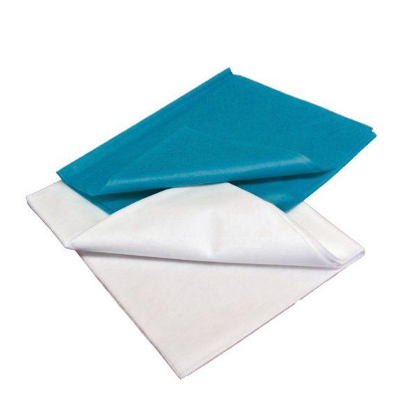 Cearsaf medical netesut , confectionat din material netesut