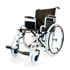 Fotoliu rulant pliabil GM-4200 cu cotiera rabatabila