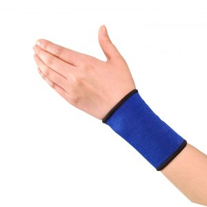 Orteza pentru incheietura mainii Dr Sport. Produsul contine elastic natural