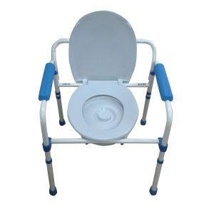Scaun WC de camera pliabil functie 3 in 1 Greutate max : 110kg