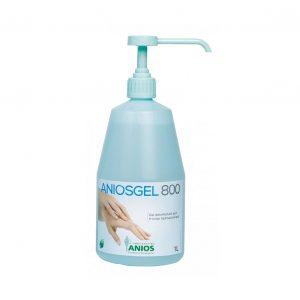 Gel dezinfectant hidroalcoolic pentru frictiunea mainilor ANIOSGEL 800