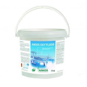 Dezinfectant detergent de nivel inalt pentru suprafete si dispozitive medicale Anios Oxy'Floor bactericid, fungicid, micobactericid, virucid, sporicid